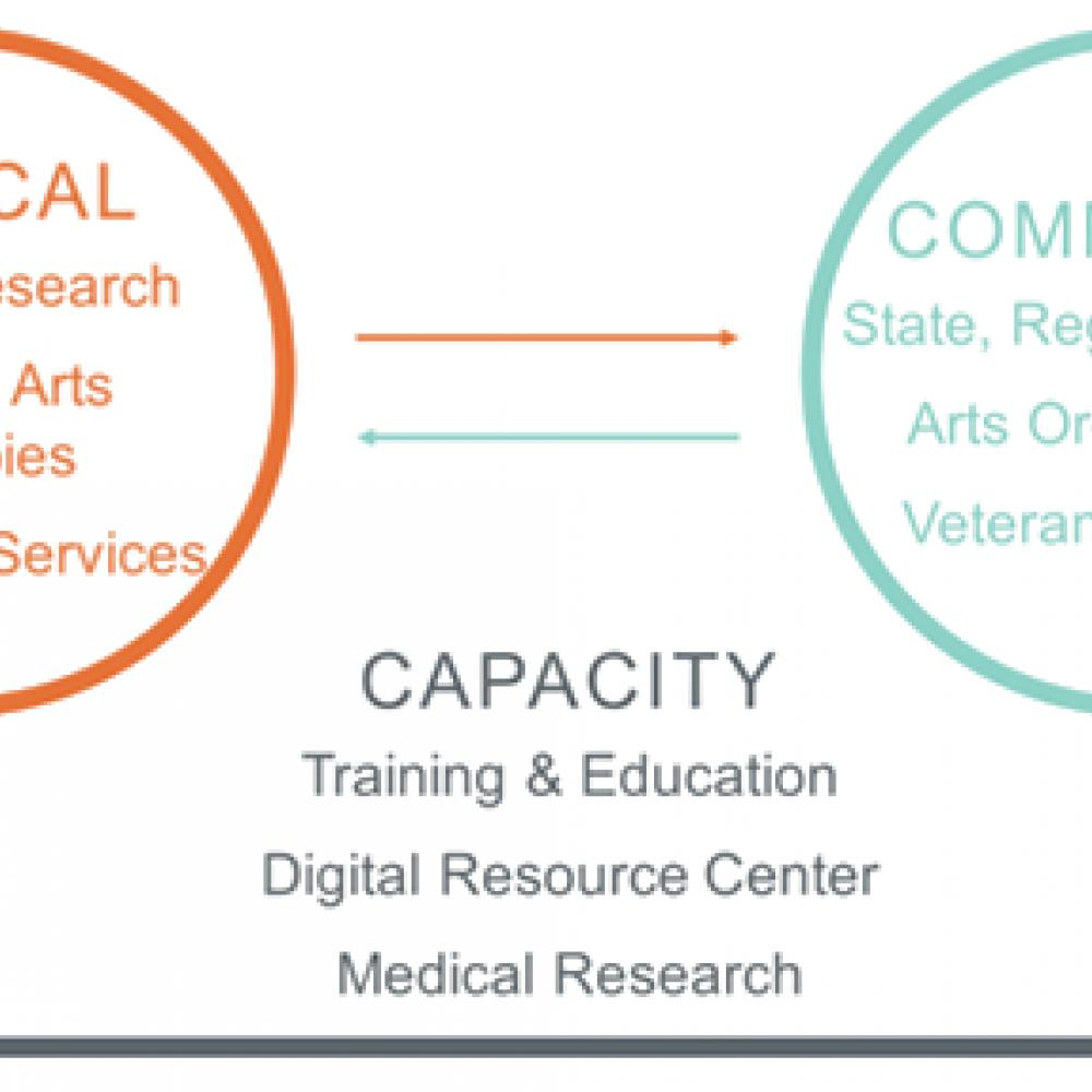 clinical, community capacity infographic